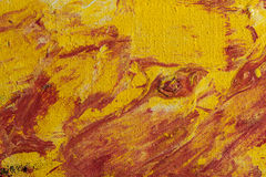 与油漆的绘的摘要 免版税库存图片