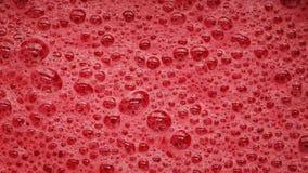 与泡影流行的红色泡沫 股票视频