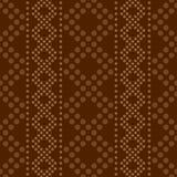 与波尔布特的装饰品的无缝的几何垂直的条纹图形 免版税库存照片