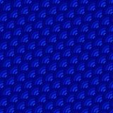 与波浪和回合的深蓝抽象背景 免版税图库摄影