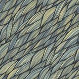 与波浪纹理的无缝的样式 库存图片