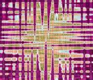 与波浪p的五颜六色的发光的干净和坚实抽象背景 免版税库存照片