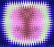 与波浪p的五颜六色的发光的干净和坚实抽象背景 免版税图库摄影