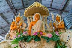 与泰国文学女神的菩萨图象 免版税库存图片