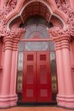 与泰国的线的建筑学 免版税库存照片