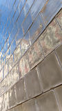 与浅兰的窗口的Azulejos 库存照片