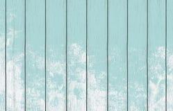 与浅兰的颜色油漆的被绘的木背景墙纸 图库摄影