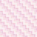 与浅粉红色和玫瑰色颜色长方形的无缝的色的样式 之字形或回避看法 免版税图库摄影