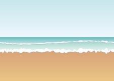 与海传染媒介的背景 免版税库存图片