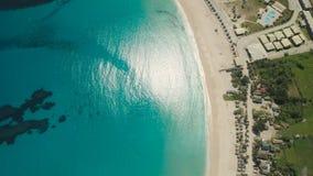与海滩和海的海景 菲律宾,吕宋 免版税库存照片