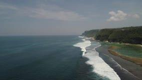 与海滩的海景 影视素材