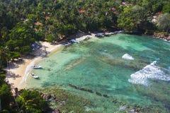 与海的拉古纳海湾 免版税库存图片