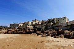与海滩的风景 免版税图库摄影