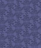 与淡紫色花饰的无缝的纹理 免版税库存照片