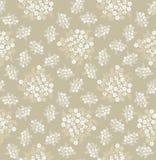 与淡色花的无缝的纹理 库存照片