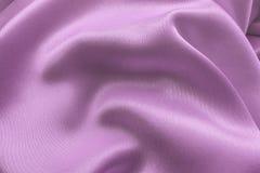 与深温暖的颜色的被折叠的织品 图库摄影