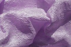 与深颜色的被折叠的织品 图库摄影