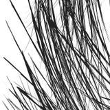 与混乱,任意线的锋利纹理 抽象几何illu 向量例证