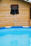 与清洁网的水池 免版税库存图片