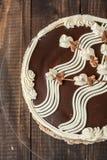 与漩涡的松糕 库存图片