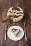 与漩涡的松糕 免版税图库摄影