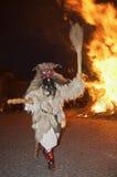与火的Buso 图库摄影