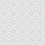 与灰色正方形的无缝的几何样式 皇族释放例证