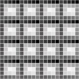 与灰色正方形的样式 库存例证