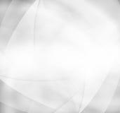 与灰色波浪的典雅的抽象背景 库存照片
