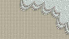 与灰色漩涡的抽象蓝色背景 免版税库存照片