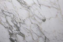 与灰色静脉的白色大理石 库存照片