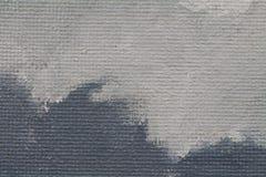 与灰色颜色的被绘的纹理背景 库存例证
