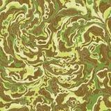 与烟棕色和绿色树荫图象纹理的样式  库存图片