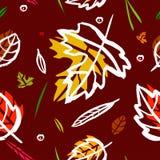 与烟红色,绿色,橙色和桃红色树荫图象纹理的样式  向量 免版税库存图片