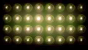 与焕发的明亮的泛光灯背景 股票录像