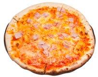 与熏火腿cotto的意大利薄饼 库存照片