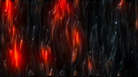 与熔岩作用的抽象CGI行动图表 皇族释放例证