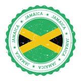 与牙买加旗子的难看的东西不加考虑表赞同的人 皇族释放例证
