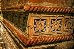 与犹太教堂的门面细节的老照片 02罗马尼亚方形timisoara联盟 免版税库存照片