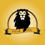 与狮子头的行家略写法  免版税图库摄影