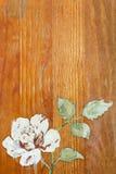 与玫瑰的背景 图库摄影