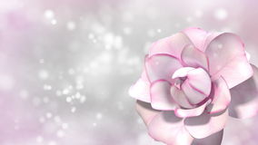 与玫瑰的背景 皇族释放例证