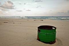 与环境污染的不可思议的日落 库存图片