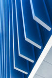 与现代公司建筑学的办公楼 免版税库存图片