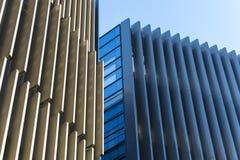 与现代公司建筑学的办公楼 库存照片