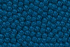 与珍珠的蓝蓝背景 1 免版税库存照片