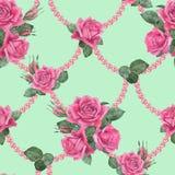 与珍珠2的玫瑰 免版税库存图片