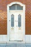 与瓦片的门道入口,葡萄牙 图库摄影