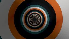 与生气蓬勃的催眠五颜六色的隧道的抽象背景 摘要色的隧道背景 皇族释放例证