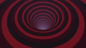 与生气蓬勃的催眠隧道的抽象背景从五颜六色的焦糖、玻璃或者塑料 螺旋形状彩虹颜色 库存例证